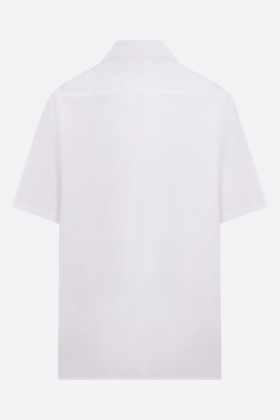 VALENTINO: VLTN Multicolor poplin bowling shirt Color White_2