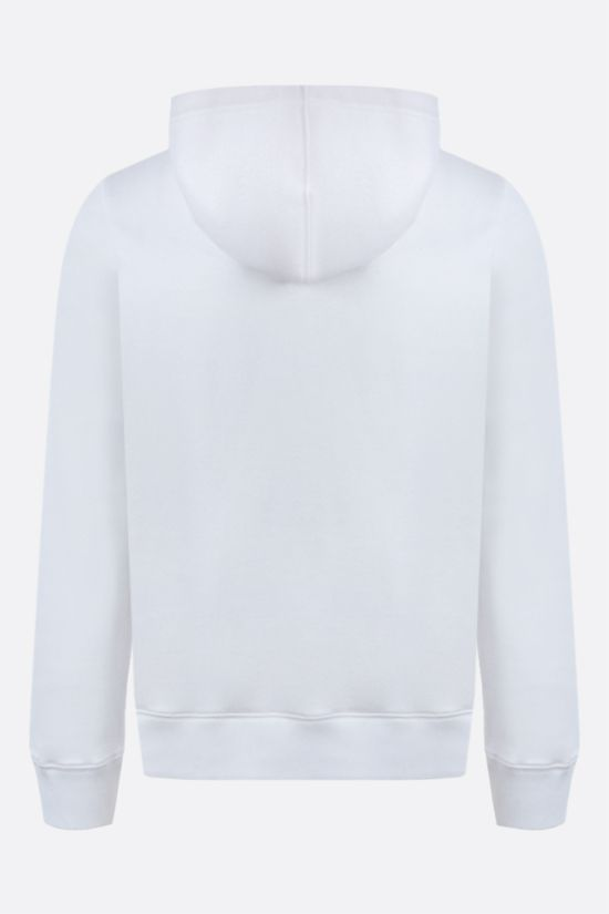 VALENTINO: VLTN Multicolour cotton blend hoodie Color White_2