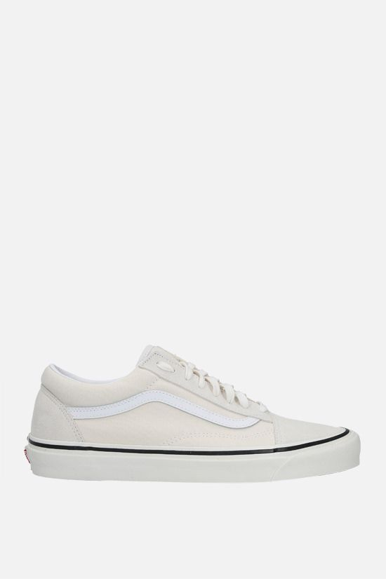 VANS: Old Skool 36 canvas and suede sneakers Color White_1