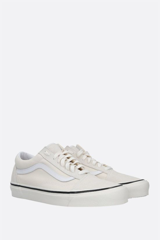 VANS: Old Skool 36 canvas and suede sneakers Color White_2