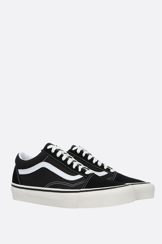 VANS: Old Skool 36 canvas and suede sneakers Color Black_2