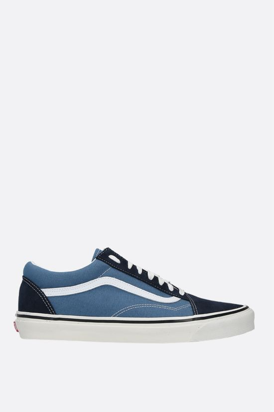 VANS: Old Skool 36 canvas and suede sneakers Color Blue_1