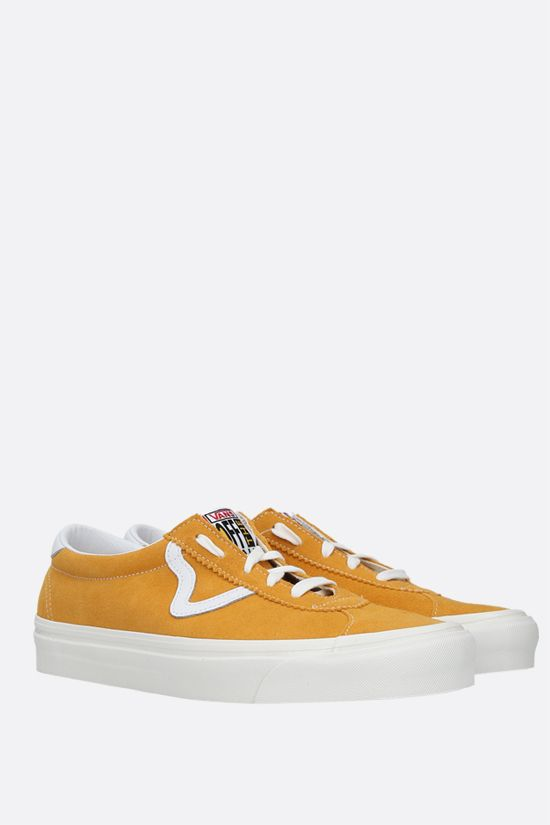 VANS: Style 73 DX suede sneakers Color Yellow_2