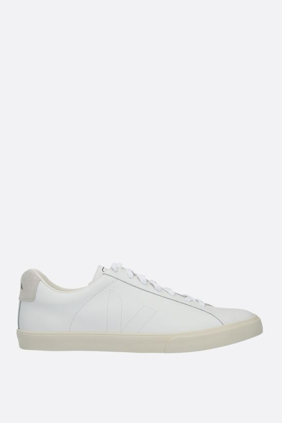 VEJA: Esplar smooth leather sneakers Color White_1