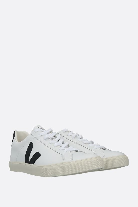 VEJA: Esplar smooth leather sneakers Color White_2