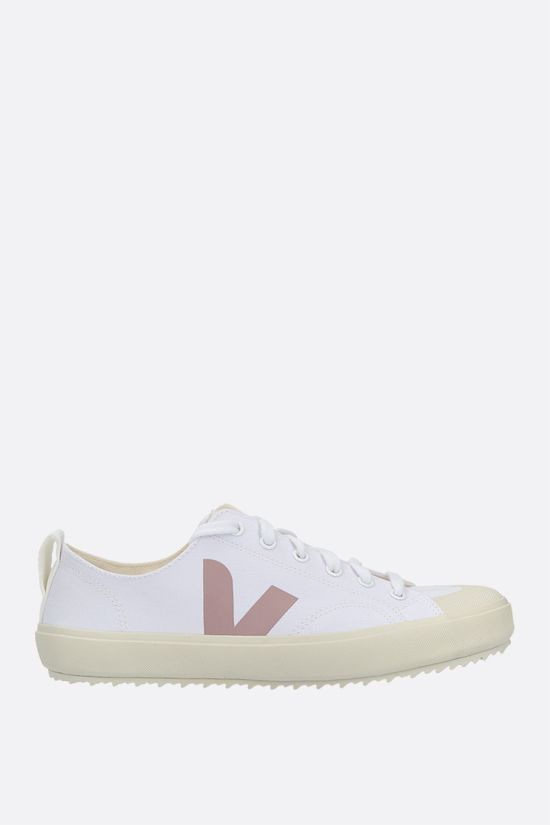VEJA: Nova canvas sneakers Color White_1