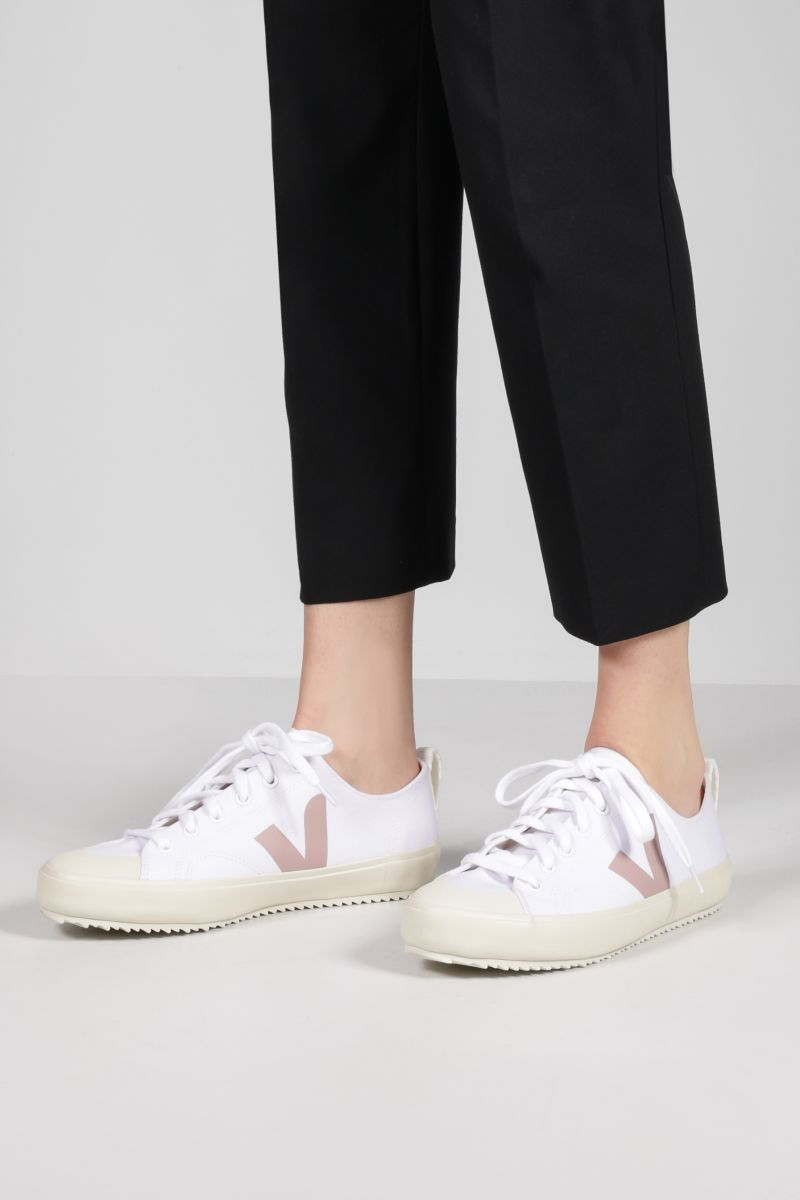 VEJA: Nova canvas sneakers Color White_2