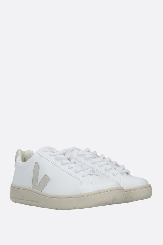 VEJA: Urca faux leather sneakers Color White_2