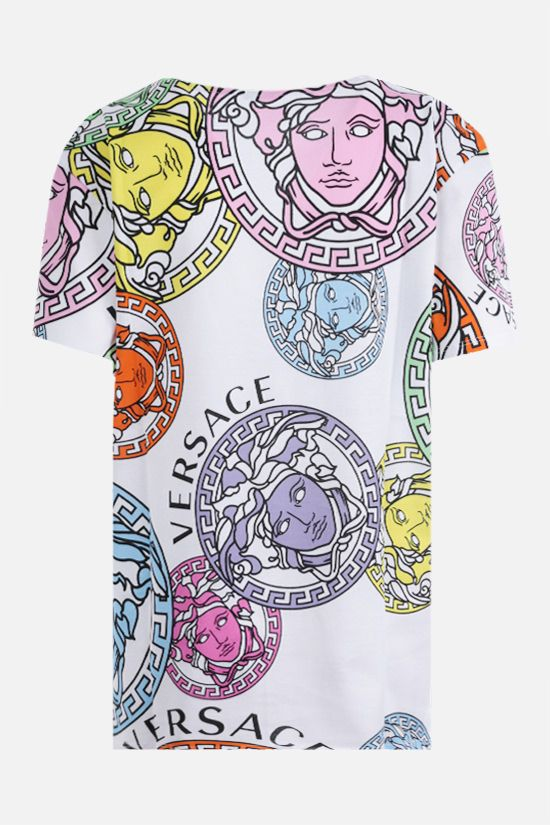 VERSACE: Medusa Amplified print cotton t-shirt Color Multicolor_2