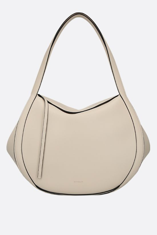 WANDLER: Lin smooth leather handbag Color White_1