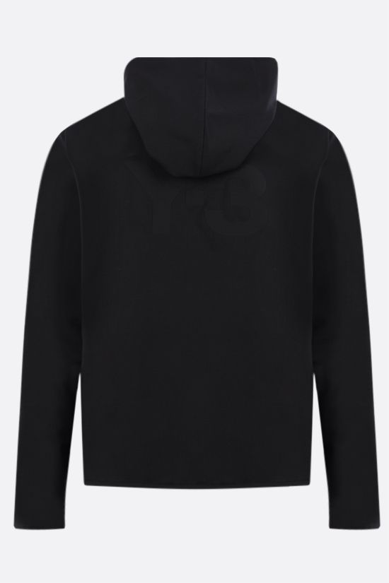 Y-3: Y-3 Classic Logo technical wool windbreaker Color Black_2