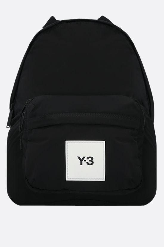 Y-3: Techlite nylon backpack Color Black_1