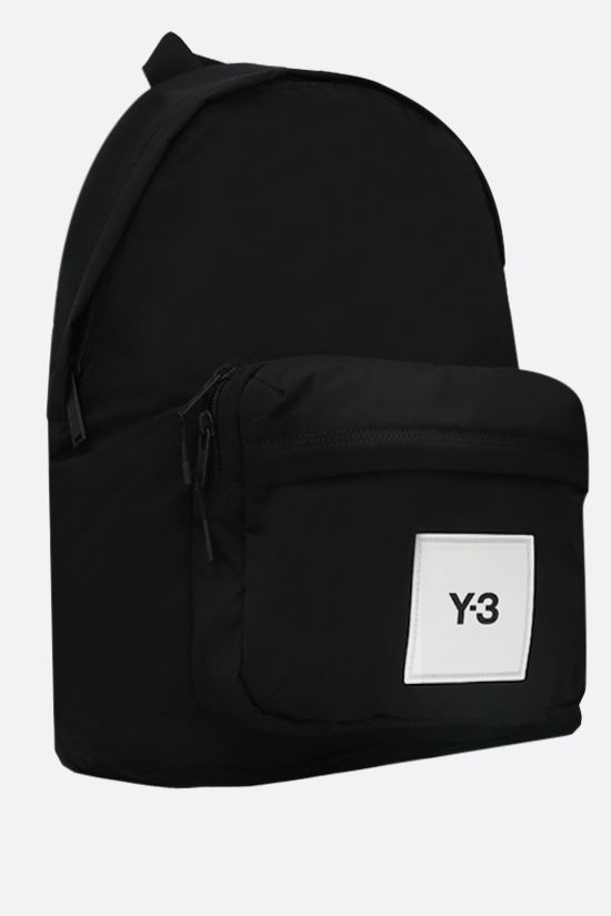 Y-3: Techlite nylon backpack Color Black_2