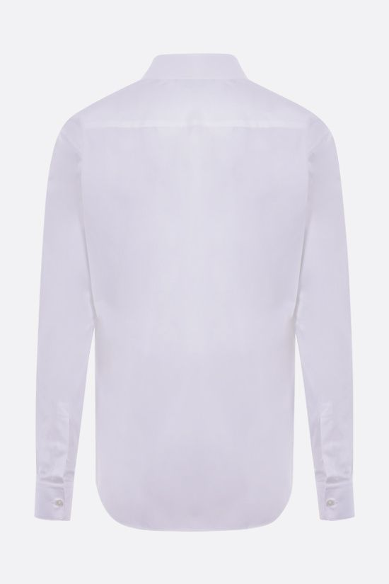 Z ZEGNA: stretch cotton shirt Color White_2