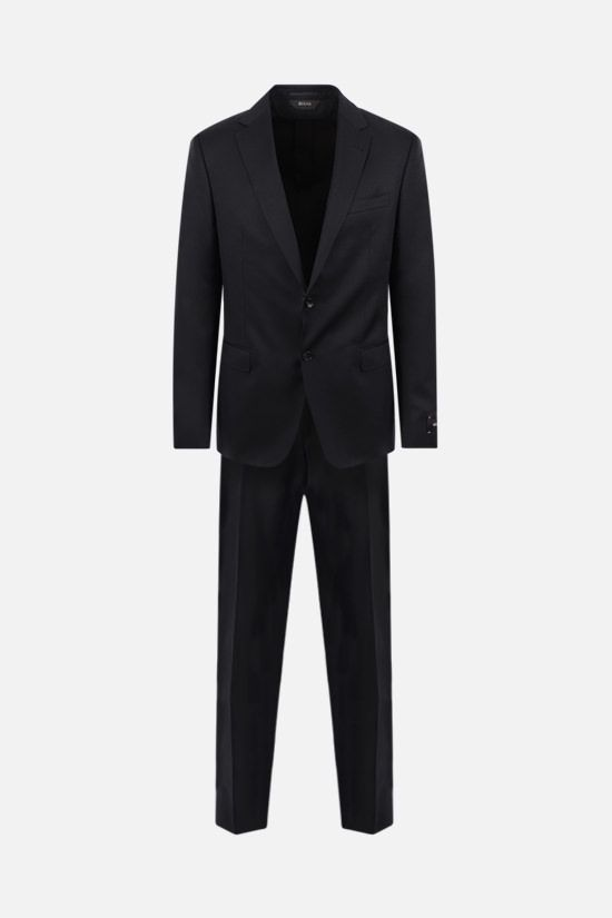 Z ZEGNA: lightweight wool two-piece suit Color Black_1
