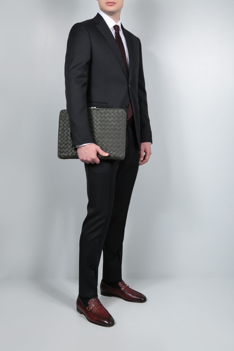 Z ZEGNA: lightweight wool two-piece suit Color Black_2