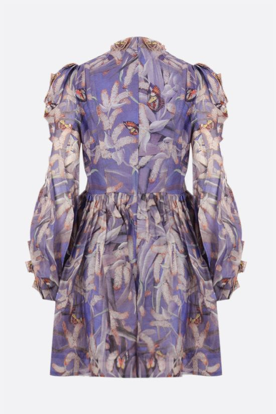 ZIMMERMANN: Botanica Butterfly organdy minidress Color Multicolor_2