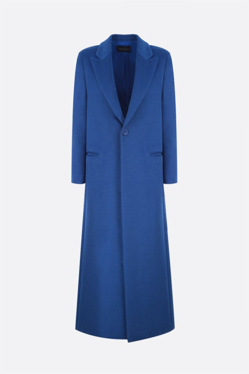 DEPENDANCE: Floor single-breasted drill coat Color Blue_1