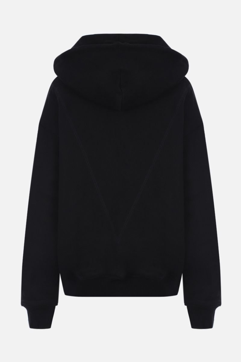 REEBOK X VICTORIA BECKHAM: RBK Victoria Beckham cotton full-zip hoodie Color Black_2