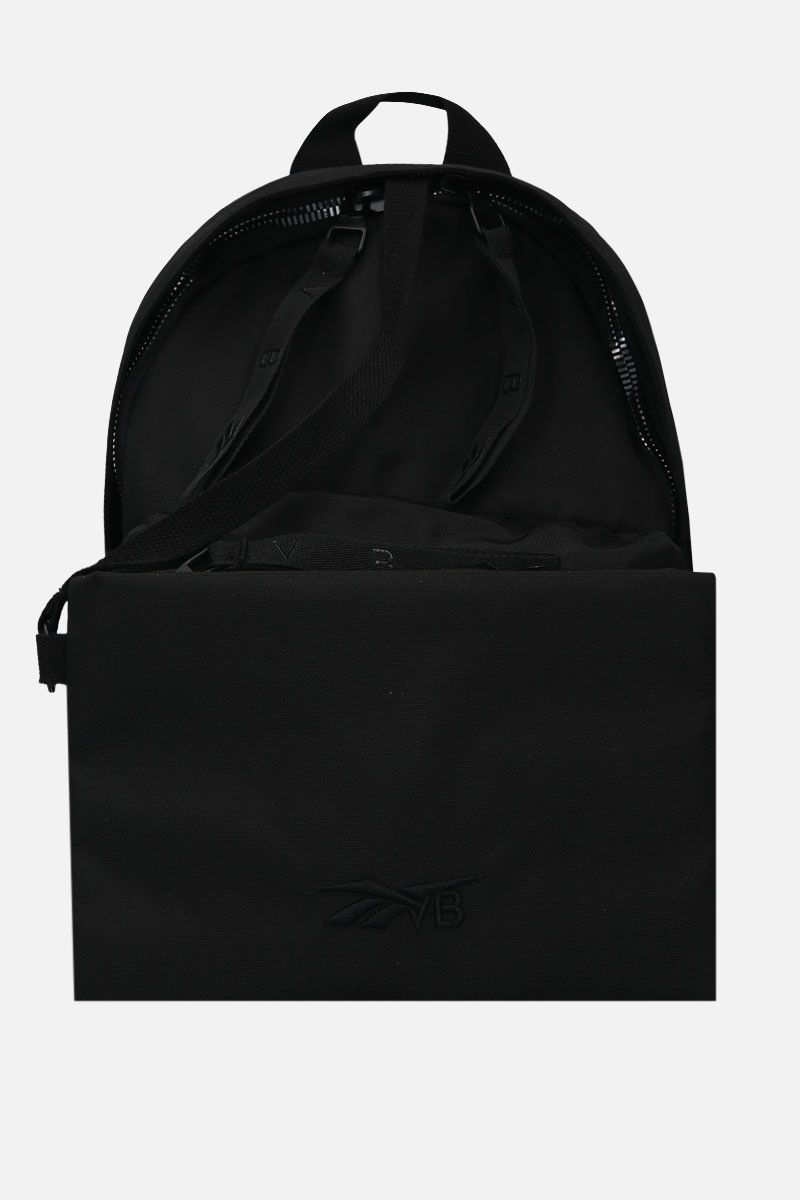 REEBOK X VICTORIA BECKHAM: RBK Victoria Becham technical fabric backpack Color Black_2