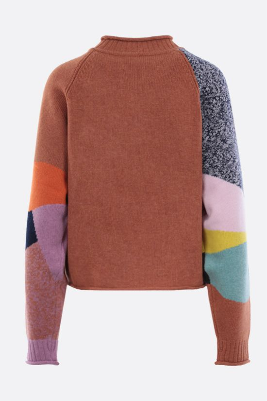 SEE BY CHLOÈ: wool blend pullover Color Multicolor_2