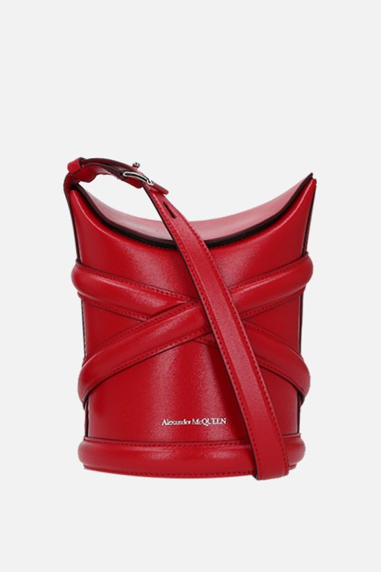 ALEXANDER McQUEEN: The Curve small smooth leather_1