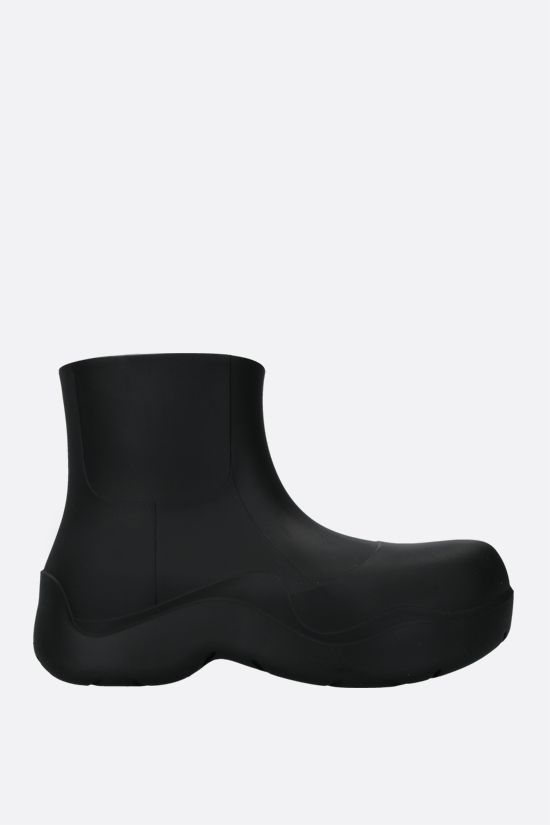 BOTTEGA VENETA: BV Puddle rubber rain boots Color Black_1