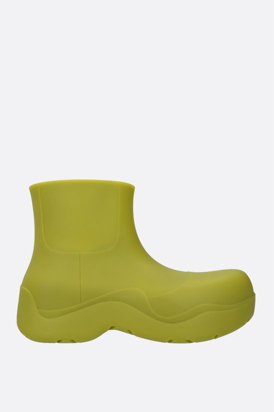 BOTTEGA VENETA: BV Puddle rubber rain boots Color Green_1