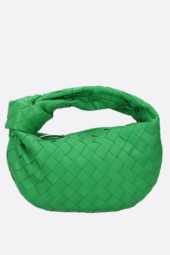 BOTTEGA VENETA: Jodie mini handbag in Intrecciato nappa Color Green_1