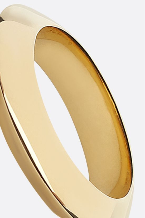 BOTTEGA VENETA: 18-karat gold-plated sterling silver ring Color Gold_2