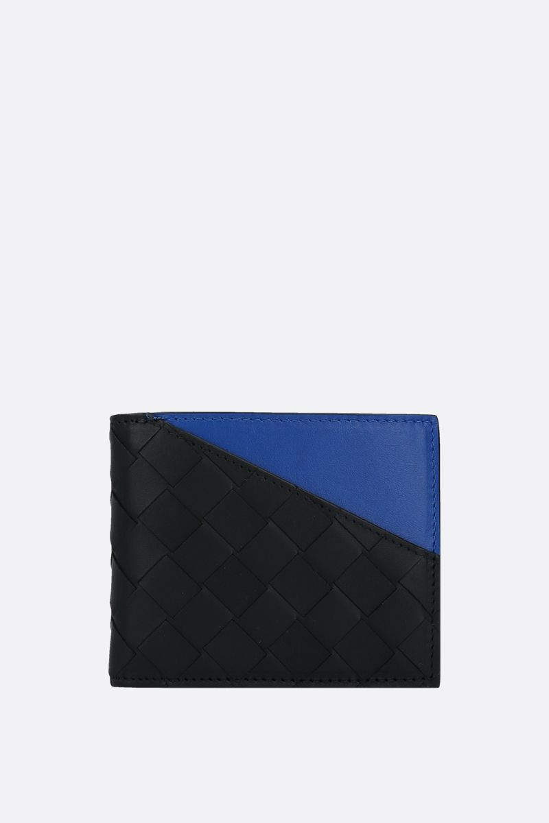 BOTTEGA VENETA: Intrecciato VN billfold wallet Color Black_1