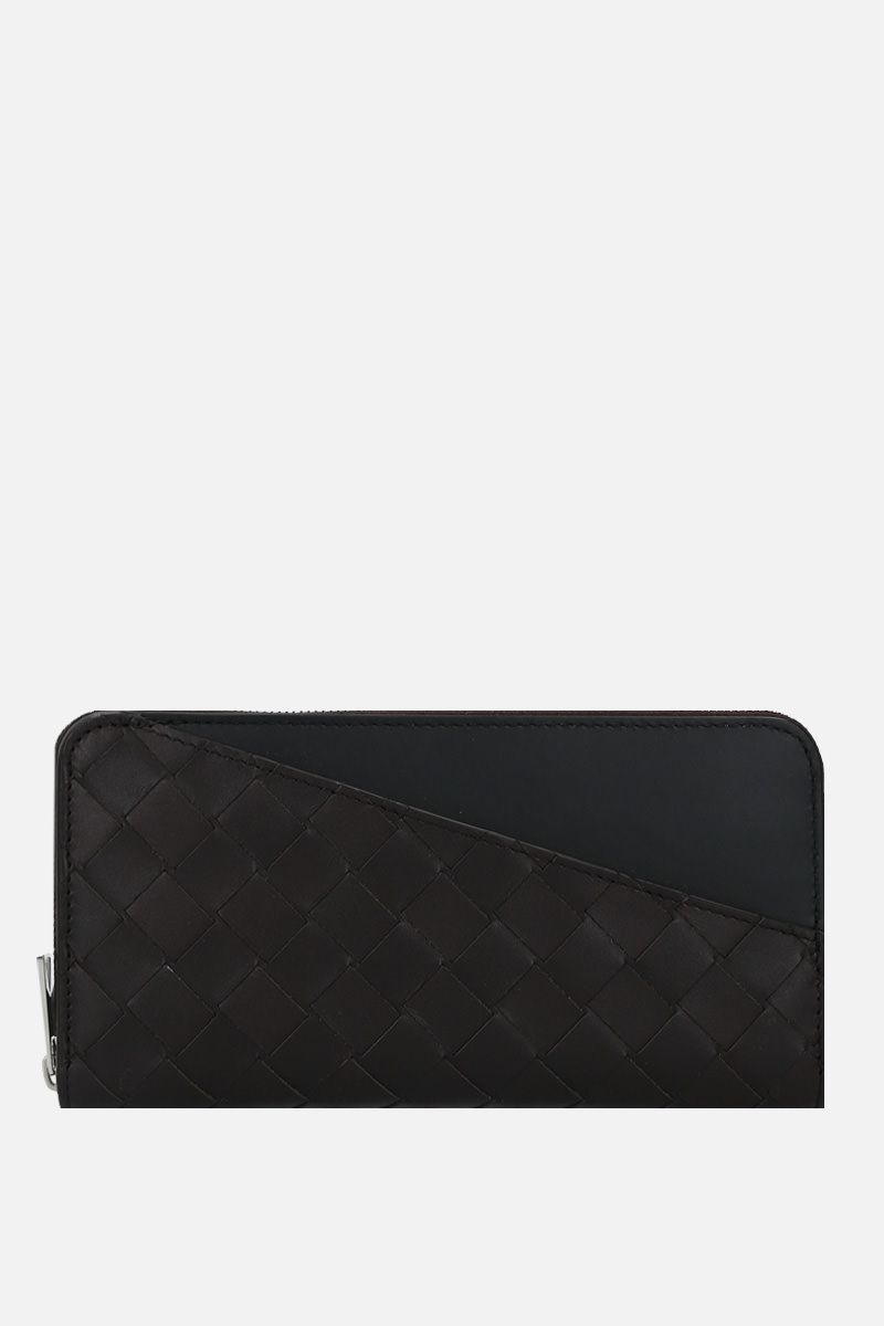 BOTTEGA VENETA: Intrecciato VN zip-around wallet Color Multicolor_1