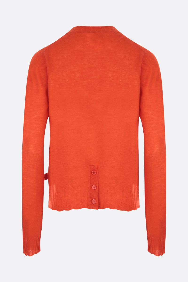 BOTTEGA VENETA: lightweight cashmere pullover Color Orange_2