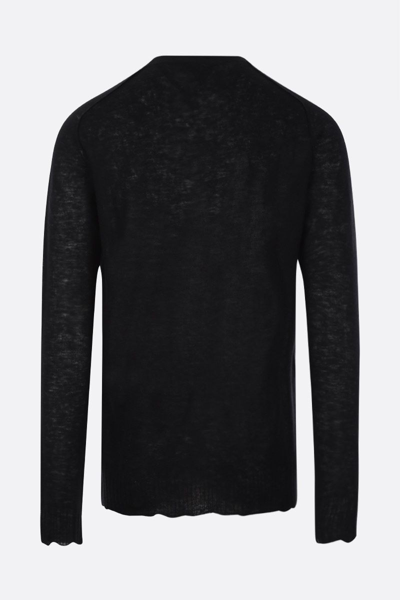 BOTTEGA VENETA: ultralight cashmere pullover Color Black_3
