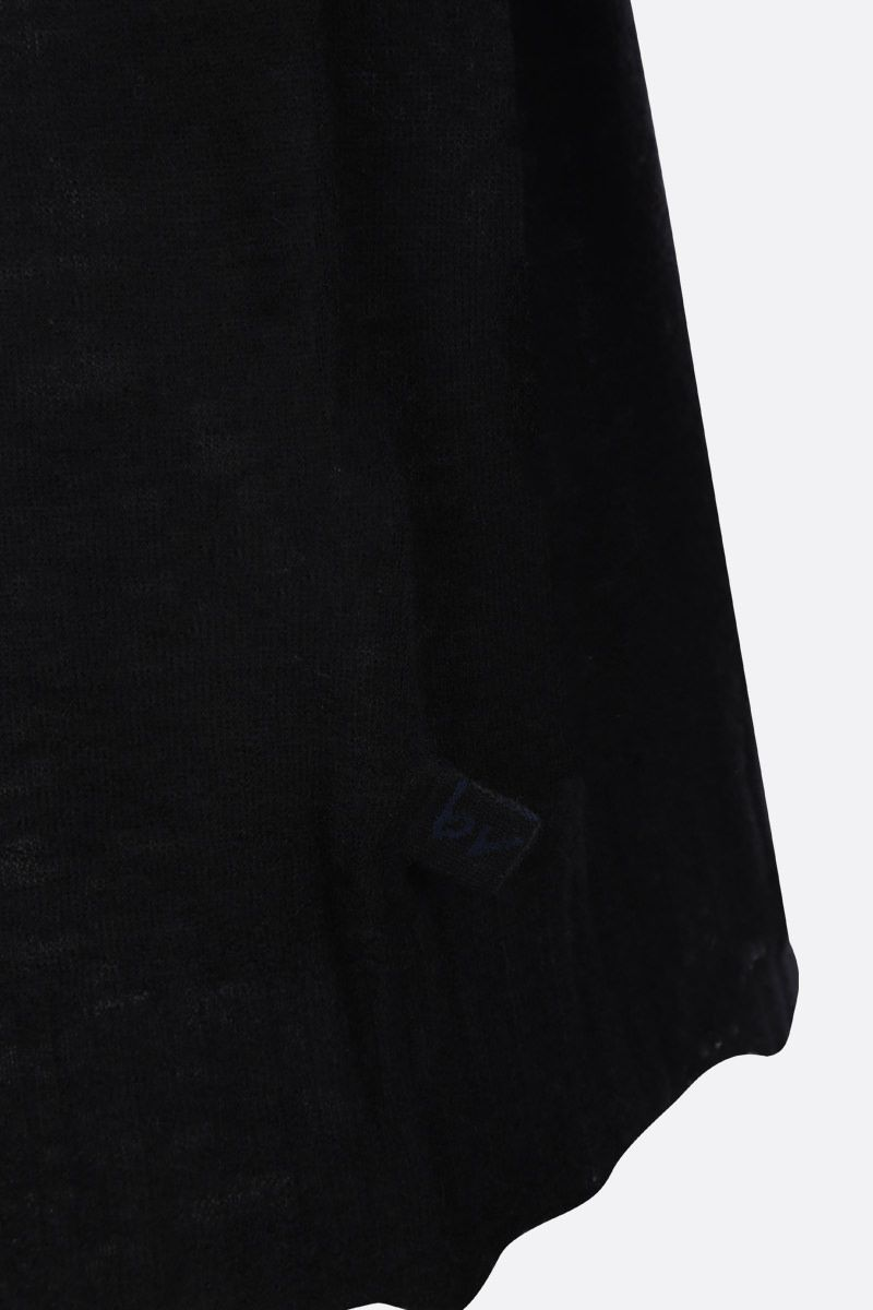 BOTTEGA VENETA: ultralight cashmere pullover Color Black_5