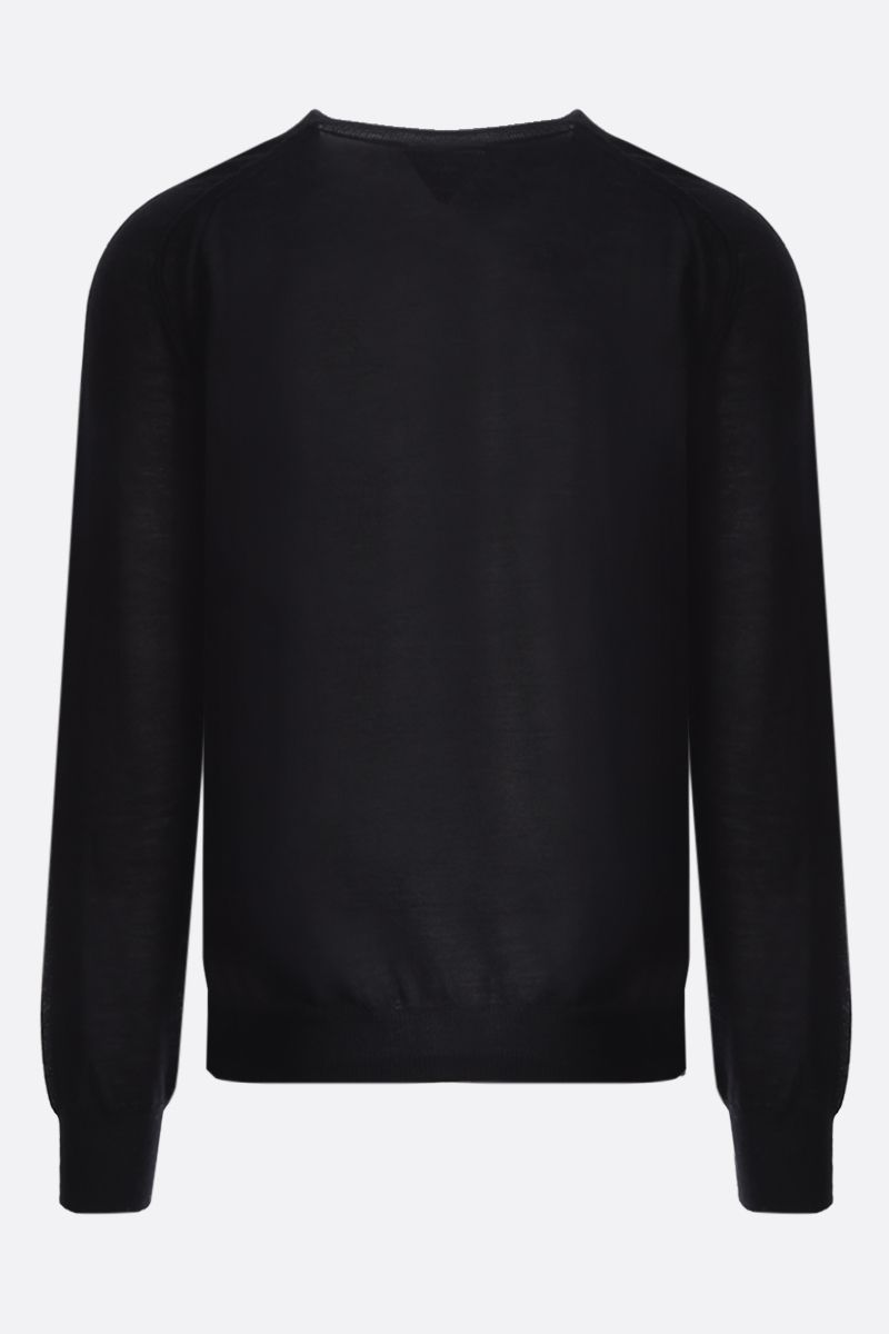 BOTTEGA VENETA: superfine cashmere pullover Color Black_2