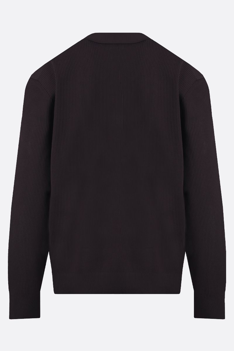 BOTTEGA VENETA: pullover in piquet tecnico Colore Multicolore_2