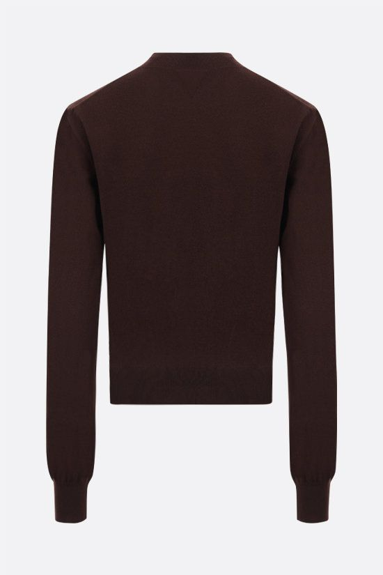 BOTTEGA VENETA: cashmere blend pullover Color Brown_2