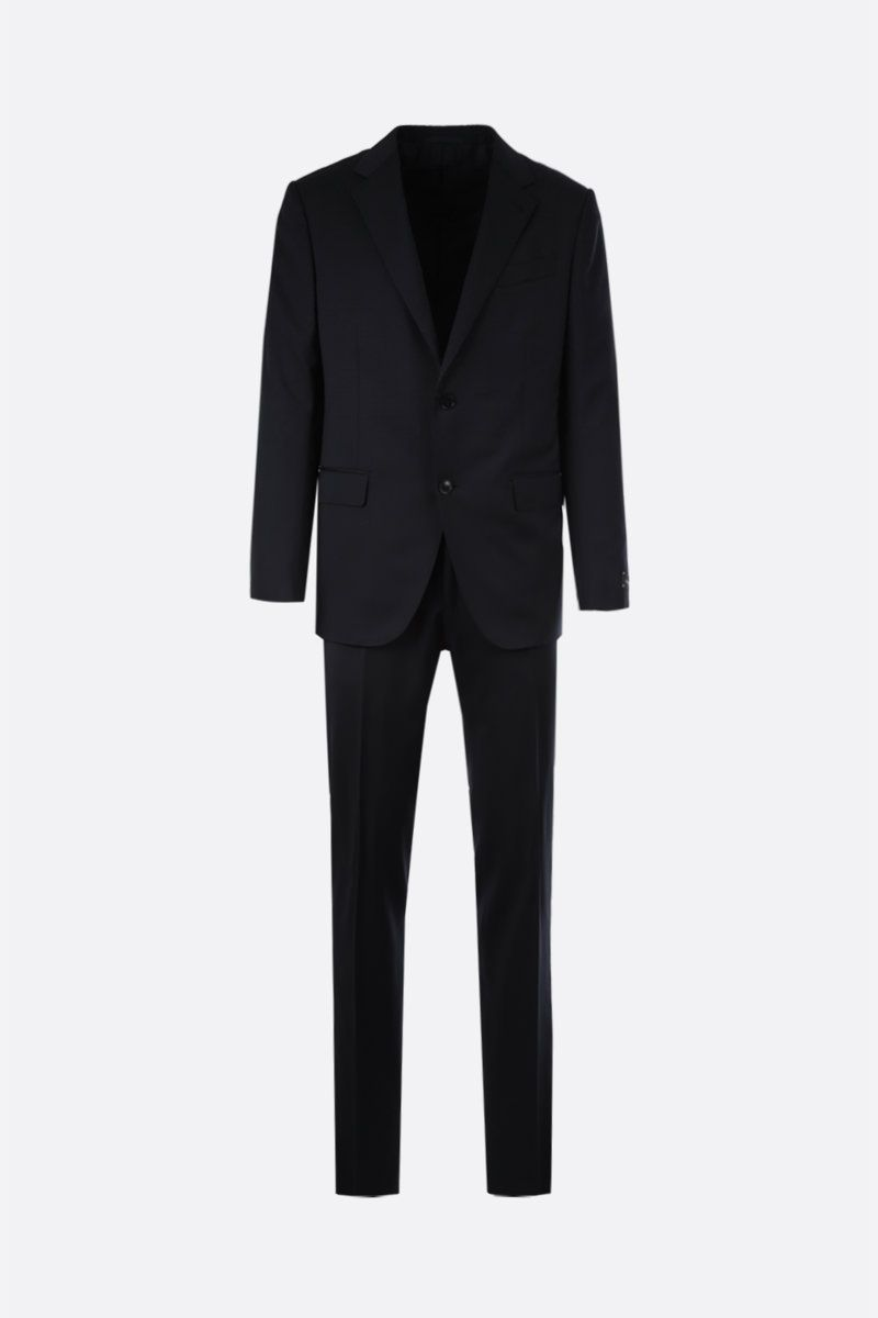 ERMENEGILDO ZEGNA: Milano Easy wool two-pieces suit Color Blue_1