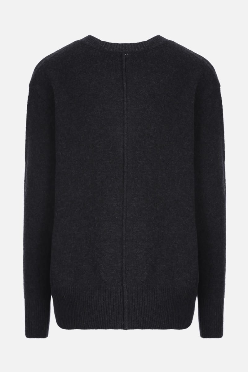 ISABEL MARANT: Dave cashmere blend pullover Color Black_2