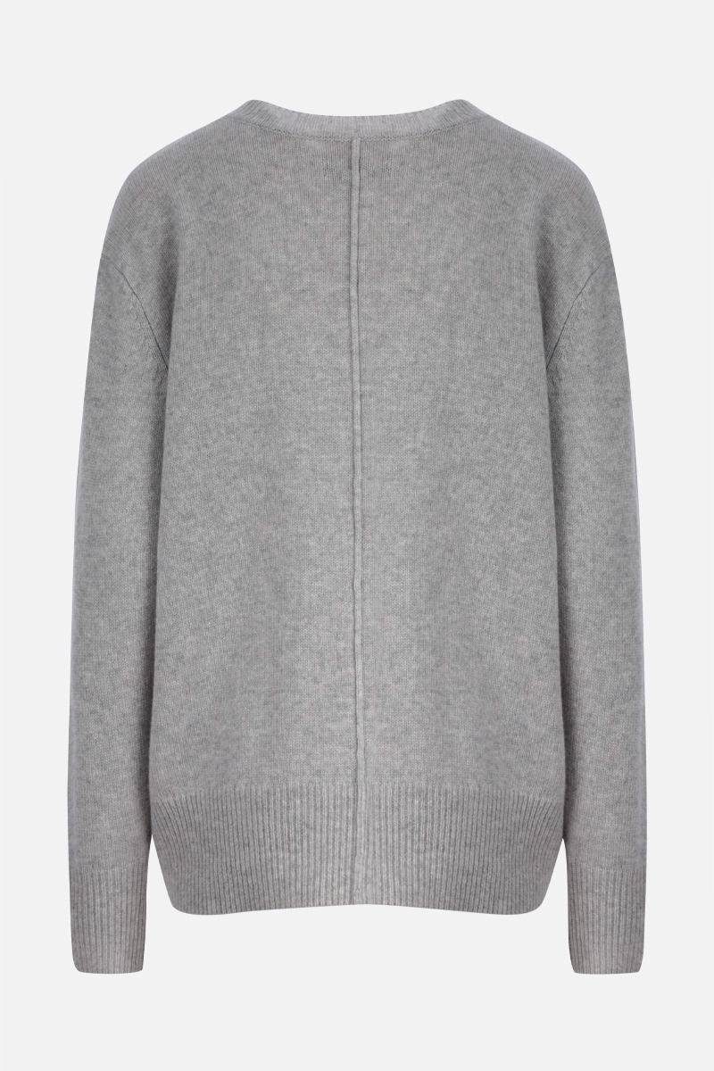 ISABEL MARANT: Dave cashmere blend pullover Color Grey_2