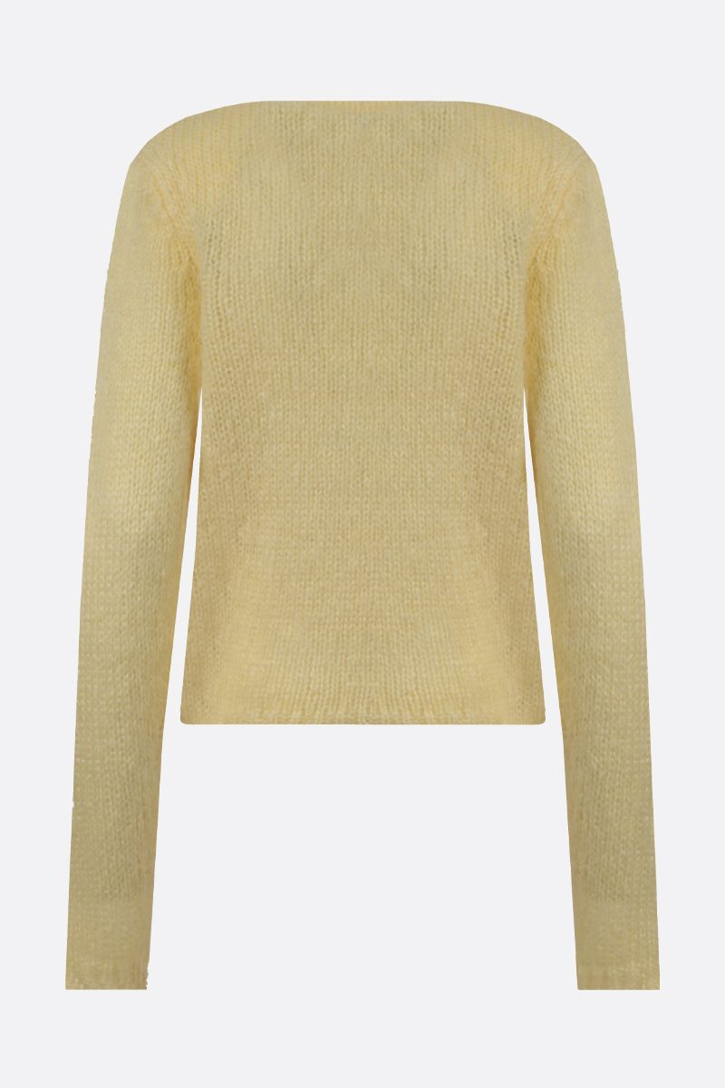 ISABEL MARANT: Erin mohair blend pullover Color Yellow_2