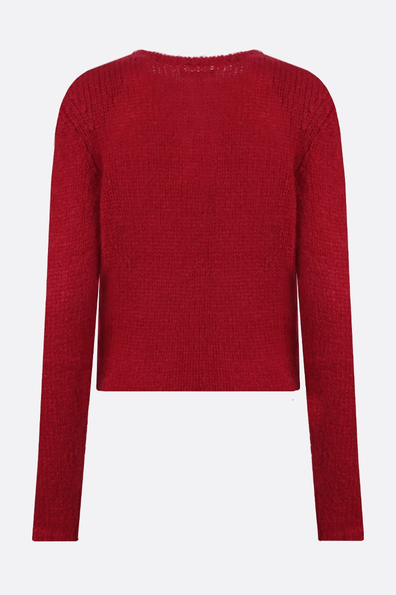 ISABEL MARANT: Erin mohair blend pullover Color Red_2