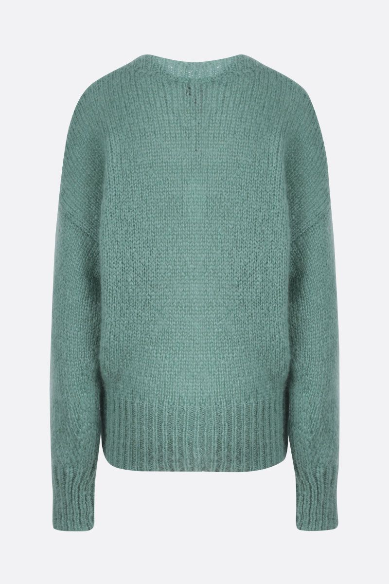 ISABEL MARANT: Estelle mohair blend pullover Color Green_2