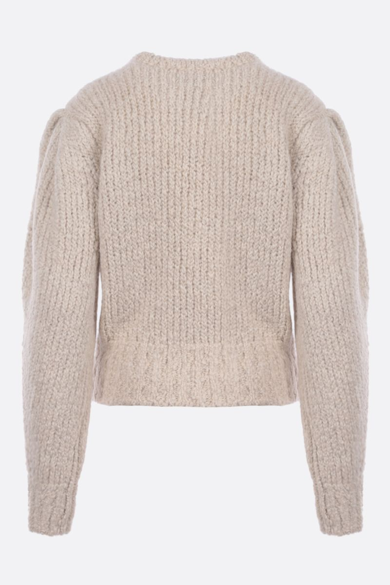 ISABEL MARANT: Enora wool alpaca blend pullover Color Neutral_2