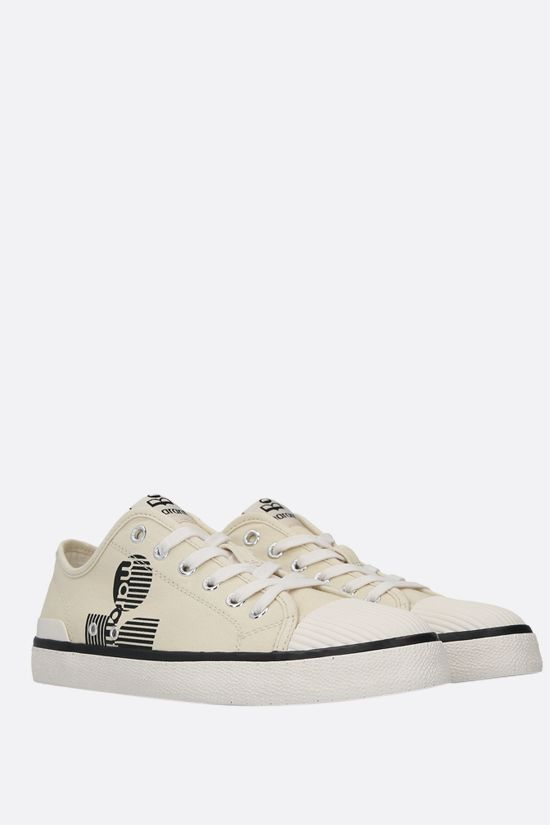 ISABEL MARANT: Binkoo canvas sneakers Color Neutral_2