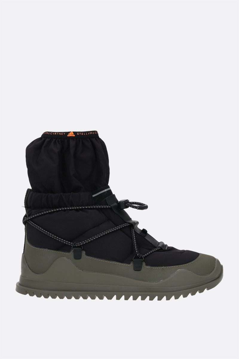 ADIDAS BY STELLA McCARTNEY: adidas by Stella McCartney ankle boots in Primeblue fabric Color Black_2
