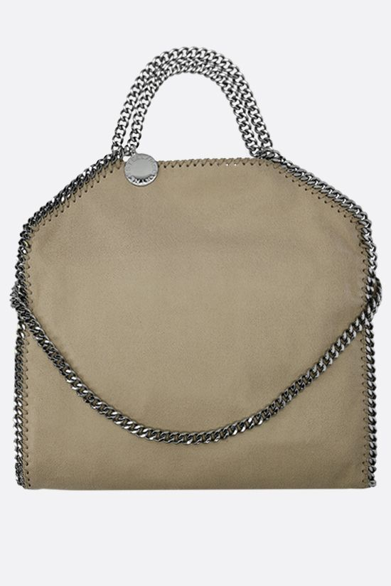 STELLA McCARTNEY: Falabella Fold over tote in Shaggy Deer Color Brown_1