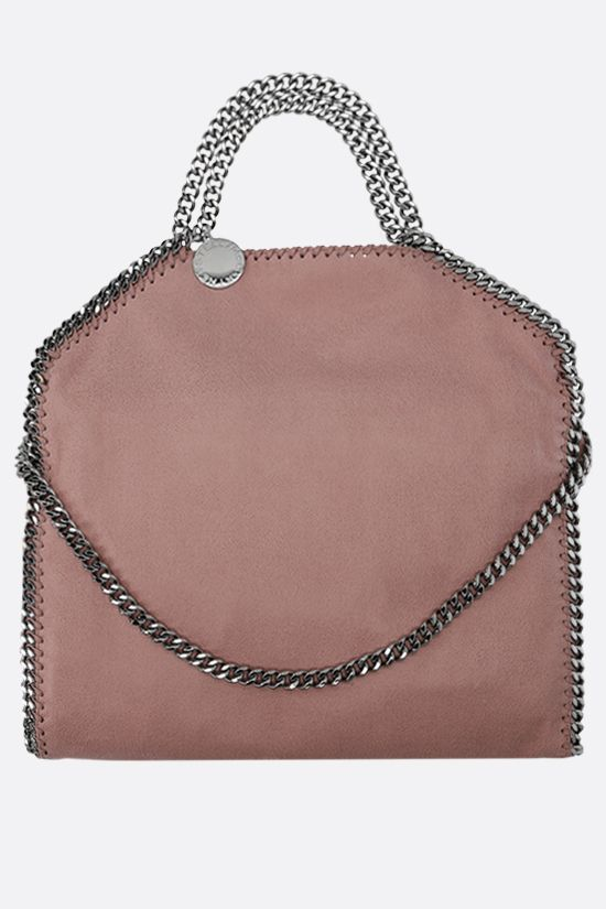 STELLA McCARTNEY: Falabella Fold over tote in Shaggy Deer Color Pink_1