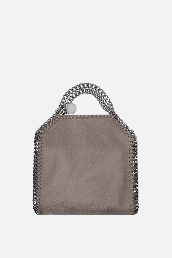 STELLA McCARTNEY: Falabella tiny tote in Shaggy Deer Color Grey_1